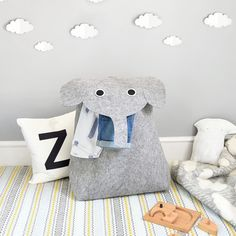 Buy Little Stackers Edward Elephant Laundry Storage Bucket, Grey from our Boxes & Baskets range at John Lewis & Partners. Free Delivery on orders over Kids Storage Baskets, Storage Buckets, Laundry Storage, Country Bands, Home Organisation, Jewellery Boxes, Present Gift, Create Your Own, Elephant