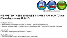 MD Health Channels (MS/Alzheimer's/Medical Marijuana) & my book posts: Now at the MDHealthChannels (Multiple Sclerosis / ...