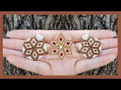 Peyote Beading Patterns, Beaded Bracelet Patterns, Dangly Earrings, Beaded Earrings, Jewelry Crafts, Handmade Jewelry, Bead Crochet Rope, Seed Bead Bracelets, Bead Jewellery