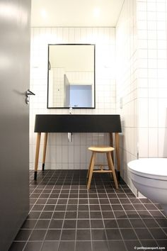 Bathroom at the Ace Hotel London