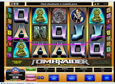 Tomb Raider, Slot Online, Slot Machine, Games, Gaming, Plays, Game, Toys, Arcade Machine