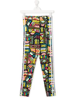 Adidas Originals Teen Patterned Leggings In Black Patterned Leggings, Black Leggings, World Of Fashion, Kids Fashion, Fashion Design, Adidas Kids, Luxury Branding, Baby Design, Adidas Originals