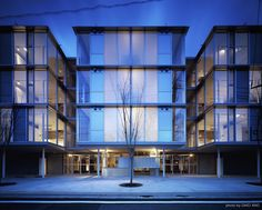 Built by Koh Kitayama + Architecture Workshop in Tokyo, Japan with date 2006. Images by Daici Ano. Structural walls have been installed in the center of each residential block, and these walls are arranged in alterna...