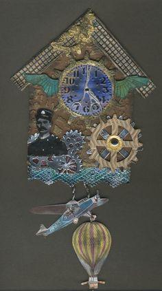 Schaerfchens Kreative Welt: Cuckoo Clocks Go Steampunk