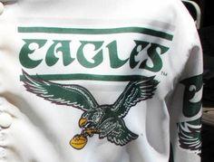 Bittersweet (re: the size): vintage philadelphia eagles chalk line jacket starter supreme medium 1988
