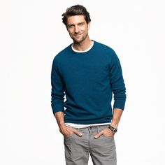 Keep it simple for Dad.  (Psst... this shade of blue is wildly flattering for almost everyone!)