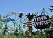 Wonderland features Canada's only Flying Coaster; Time Warp.  Enjoy the thrills of a roller coaster while experiencing the sensation of flying.   Height Requirement: 54 inches
