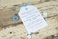 Items similar to Pretty Handmade Christening Invitation - Naming Day - Baptism - Baby Boy on Etsy Naming Ceremony, Christening Invitations, Baby Blue Colour, Name Day, Blue Color Schemes, Baby 1st Birthday, Pretty Baby, Love Heart, Baby Boy