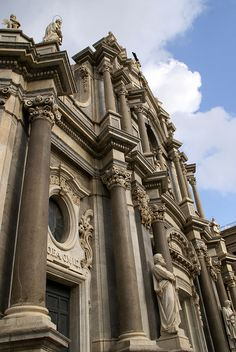 Catania, Piazza Duomo, Duomo di Sant'Agata, Fassade (facade)   Flickr - Photo Sharing!