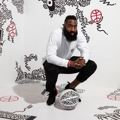 """26.9 k gilla-markeringar, 30 kommentarer - adidas Basketball (@adidashoops) på Instagram: """"@JHarden13 is ready to create on the biggest stage and the #adidasHoopsCollective is bringing the…"""""""