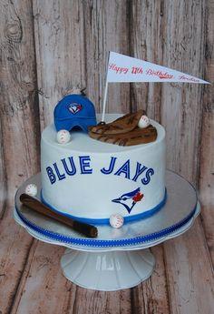 Toronto Blue Jays baseball cake