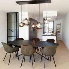 Table Decor Living Room, Dining Decor, Living Room Modern, Dining Room Inspiration, Home Decor Kitchen, House Rooms, Home Remodeling, Decoration, House Design
