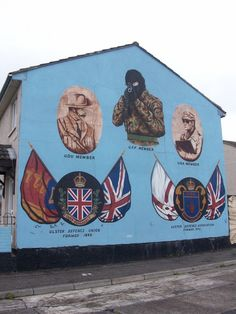 "Belfast, Northern Ireland - My dream is to one day write a book about this murals and how important they were to both sides of ""The Troubles""."
