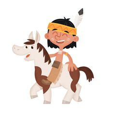 Cowboys and Indians by eva galesloot, via Behance