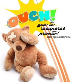 Que te recuperes pronto Get Well Soon Messages, Get Well Soon Quotes, Get Well Wishes, Get Well Cards, Happy Weekend, Happy Day, Wish Quotes, Cute Poster, Good Morning Good Night