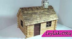 Ahşap maket ev yapımı için gerekli malzemeler