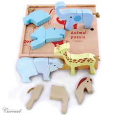 Magnetic Animal Puzzle