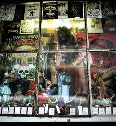 Madame Marie Laveau's House of Voodoo, New Orleans New Orleans Voodoo, New Orleans Art, New Orleans Mardi Gras, Spiritual Beliefs, Spirituality, Voodoo Shop, New Orleans History, Papa Legba, Marie Laveau