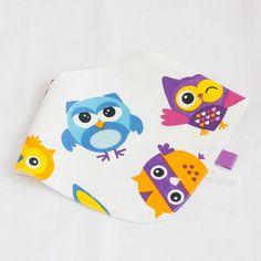 Owl BibsBaby Boy GiftBaby BibNewborn GiftOrganic bandana Clean Washing Machine, Baby Up, Newborn Gifts, Baby Cribs, Bibs, Bandana, Owl, Dribble Bibs, Bandanas
