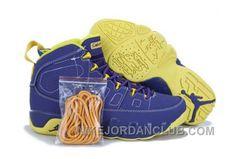 http://www.nikejordanclub.com/nike-air-jordan-9-mens-purple-yellow-shoes-2btnx.html NIKE AIR JORDAN 9 MENS PURPLE YELLOW SHOES EZSM3 Only $84.00 , Free Shipping!