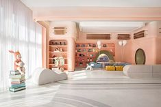 Office Interior Design, Office Interiors, Kid Spaces, Kidsroom, Hostel, Playroom, Indoor, Furniture, Home Decor