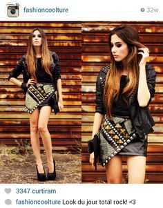 From fashion coolture. She has a blog