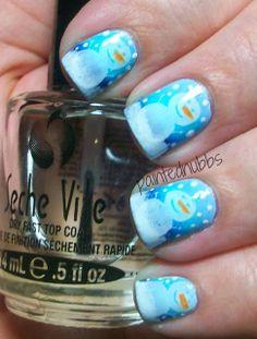 Painted Nubbs: AIS: Using Three Blues