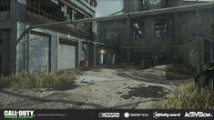 ArtStation - Call of Duty: Modern Warfare Remastered - Pipeline Environments, Raquel Garcia