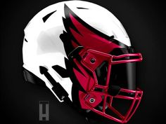 Artist Reveals Absolutely Incredible Helmet Designs For All 32 NFL Teams – Page 32 New Helmet, Helmet Logo, 32 Nfl Teams, Falcon Logo, Nfl Football Helmets, Viking Helmet, Black Helmet, Nfl Logo, Sport