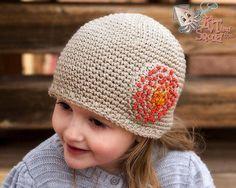 Single crochet beanie.