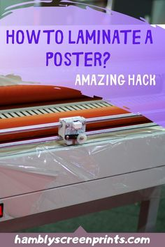 If you have some posters you'd like to keep in good condition for a long time, lamination would definitely be a great step. Read on to find out how to laminate poster at home and discover how much it costs here. Laminating Paper, Vinyl Decals, Wall Decals, Fabric Cutting Table, Posters Diy, Cricut, Stationery Store, Plastic Sheets, Vinyl Shirts