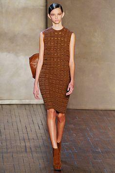 Akris; am always looking for a modern take on crochet