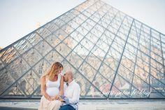 photographe femme enceinte Paris Louvre