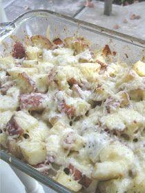 Miranda's Recipes: Roasted Italian Cheese Potatoes