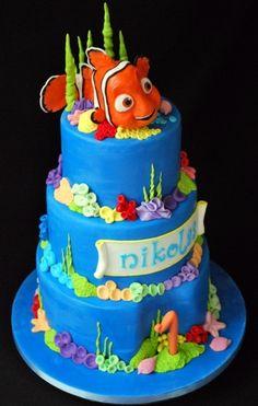Nemo cake:) By NadaG on CakeCentral.com