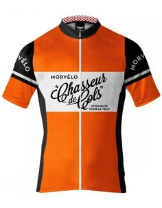 The Cool Dude Shop · Products · Morvelo Orange Retro Cycling Jersey 757d95f3f