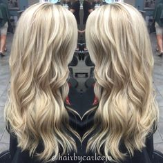 Blonde dimension || Baylayage Hair || Kansas City Hair || @hairbycarleejo