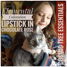 Lipsticks Made with Chocolate! Chocolate Roses, Like Chocolate, Tortoiseshell Tabby, Elderberry Fruit, How To Make Lipstick, Organic Dark Chocolate, Rose Trees, Theobroma Cacao, Cocoa Butter