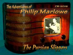 "Philip Marlowe ""The Persian Slippers"" 10/3/48 Oldtime Radio Crime Drama"