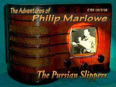 "Philip Marlowe ""The Persian Slippers"" 10/3/48 Oldtime Radio Crime Drama"