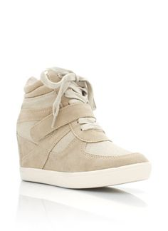 wedge sneakers- I don't know what it is, but I just love this type of shoe!!