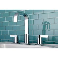 Complete the look of your contemporary bathroom with this high-arch bathroom faucet. Featuring clean lines in a bold, modern design, this faucet adds interest and style to your bathroom. The chrome finish gives this faucet a polished look.