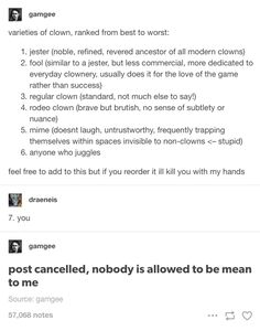 um mimes highkey dont deserve this kind of treatment Tumblr Stuff, Funny Tumblr Posts, Funny Memes, Hilarious, Jokes, Funny Tweets, Writing Tips, Writing Prompts, Text Posts