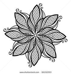 Beautiful Deco Mandala (Vector), Patterned design - stock vector