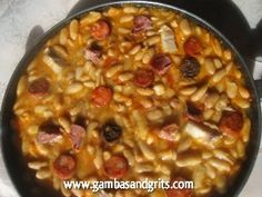 Fabada Asturiana (Asturian White Bean Stew)    This authentic Asturian fabada is ridiculously easy to make and perfect for those cold-weather months.