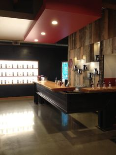 This is where we will probably have whiskey tastings and then the bar.   Westland Distillery, Seattle, WA,  Beautiful, modern space!