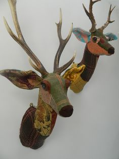 Fabric Deer Head Sewing Pattern Google Search