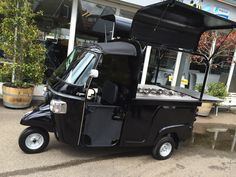 Piaggio Ape Calessino 200 Fly with Ice-Cream unit