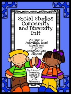 It can be a challenge to find time in the day to teach social studies, let alone prep for it!  This Interdisciplinary Community and Diversity Unit is designed so you can teach it during your ELA block! There are 20 days of lesson plans including:-Read Alouds-Writing Activities-Science Experiments-Discussion questions  -Craftivities and much more!Minimal prep is required for this unit plan!