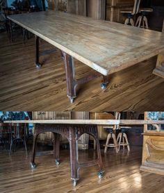 Mesa de estilo industrial